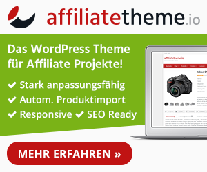 WordPress Affiliate Theme