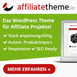 WordPress Affiliatetheme Gutschein Code