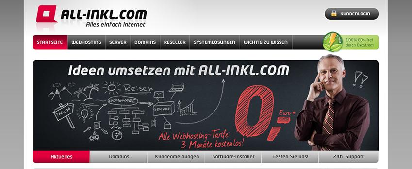 ALL-INKL Screenshot