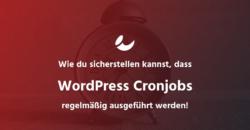 WordPress Cronjobs von extern ausführen
